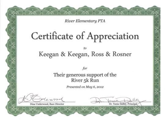 river elementary gives thanks keegan keegan ross rosner