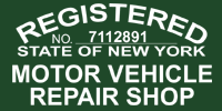 Registered Motor Vehicle Repair Shop