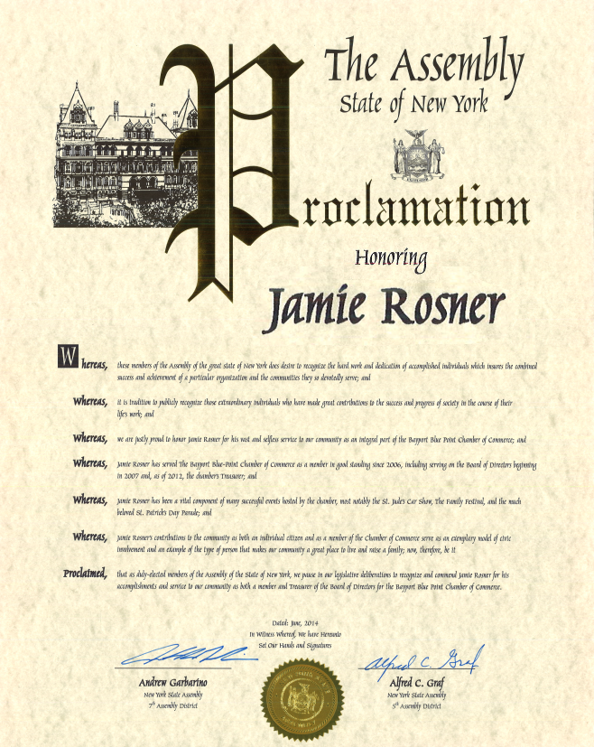 New-York-Assembly-Proclamation