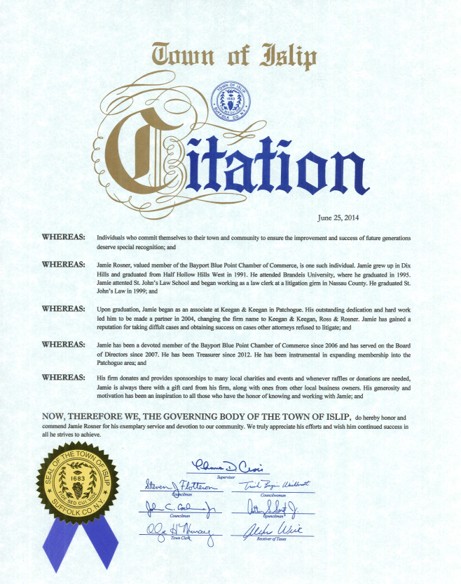 Town-of-Islip-Proclamation
