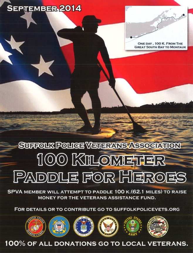 100k Paddle for Heroes